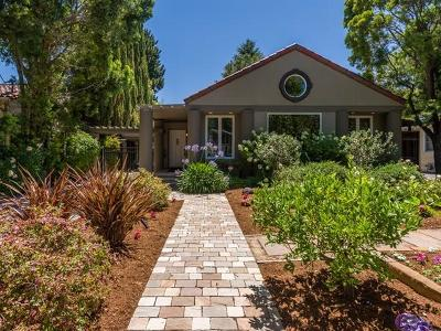 Palo Alto Single Family Home For Sale: 158 Rinconada Ave
