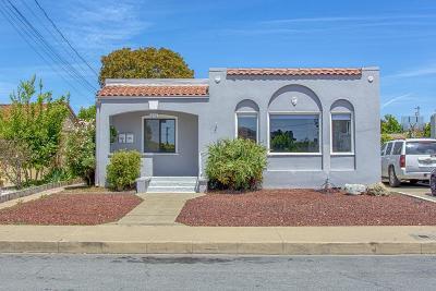 WATSONVILLE Multi Family Home For Sale: 615 E 5th St