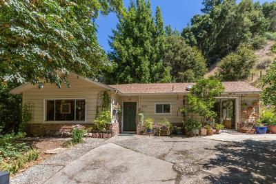 SARATOGA Single Family Home For Sale: 16500 Sanborn Rd