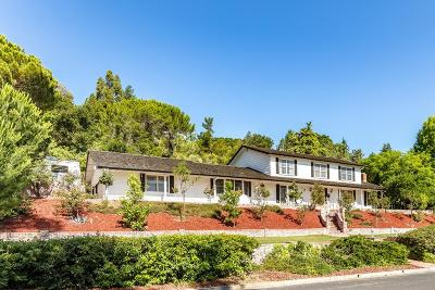 SARATOGA Single Family Home For Sale: 13897 Trinity Ave