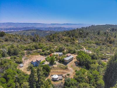 Watsonville Single Family Home For Sale: 1069 Summit Rd