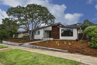 Pacific Grove Single Family Home For Sale: 1009 Forest Ave
