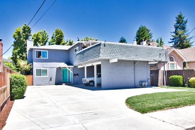 REDWOOD CITY Multi Family Home For Sale: 1339 Oxford St