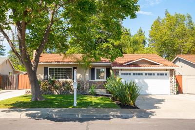 SANTA CLARA Single Family Home For Sale: 2563 Johnson Pl