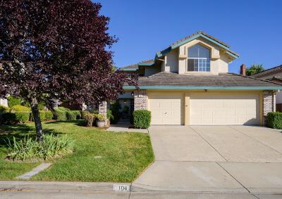 SCOTTS VALLEY Single Family Home For Sale: 104 Bordeaux Ln