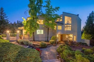 LOS GATOS Single Family Home For Sale: 185 Snow Crest Rd