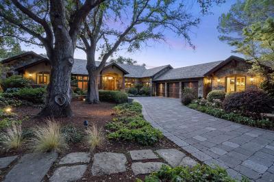 Saratoga Single Family Home For Sale: 15175 Via Colina