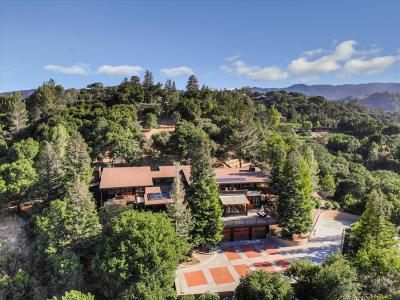 SARATOGA Single Family Home For Sale: 13436 Pierce Rd