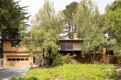 Pebble Beach Single Family Home For Sale: 4129 Sunset Ln