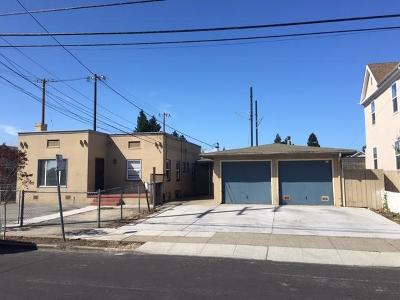 SAN MATEO Multi Family Home For Sale: 205-207 N Claremont St