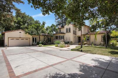 LOS ALTOS Single Family Home For Sale: 1255 Montclaire Way