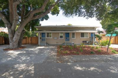 REDWOOD CITY Multi Family Home For Sale: 2707 Marlborough Ave