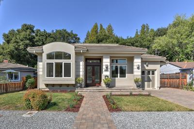 Palo Alto Single Family Home For Sale: 886 Chimalus Dr