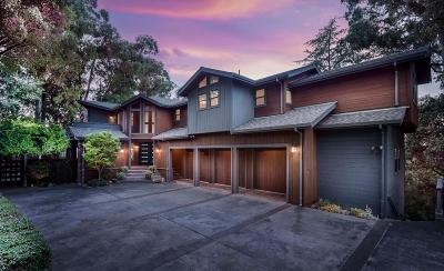 LOS GATOS Single Family Home For Sale: 18640 Overlook Rd