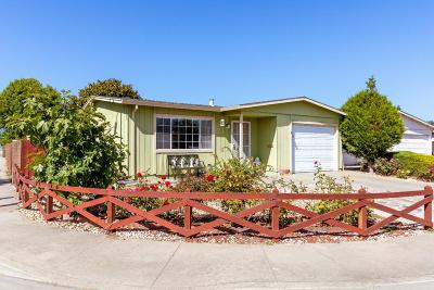 Watsonville Single Family Home For Sale: 401 Spruce Cir