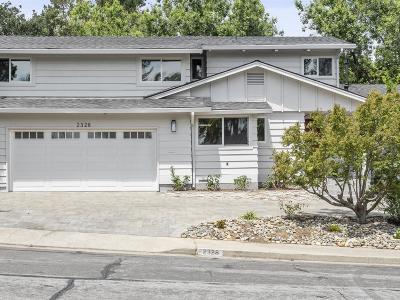 MENLO PARK Single Family Home For Sale: 2328 Eastridge Ave