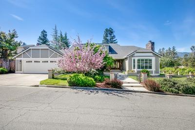 MONTE SERENO Single Family Home For Sale: 17330 Parkside Ct