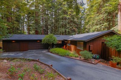 SCOTTS VALLEY Single Family Home For Sale: 5 Country Ln