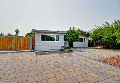 MOUNTAIN VIEW Single Family Home For Sale: 819 Leong Dr