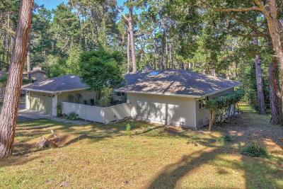 Pebble Beach Single Family Home For Sale: 4071 Crest Rd