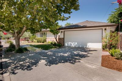 SAN JOSE Single Family Home For Sale: 1344 Camino Ramon