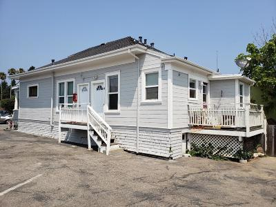 Santa Cruz Single Family Home For Sale: 1507 Mission St