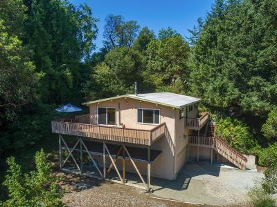 SOQUEL Single Family Home For Sale: 655 Aurora Rd