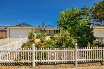 San Jose, Palo Alto, Menlo Park, Cupertino, Santa Clara, Mountain View, Sunnyvale Single Family Home For Sale: 3042 Bradshaw Dr