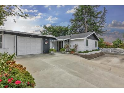 Monterey County Single Family Home For Sale: 896 Portola Dr