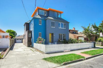 SAN BRUNO Multi Family Home For Sale: 523-525 4th Ave
