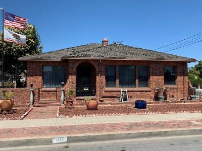 Watsonville Single Family Home For Sale: 703 Palm Ave