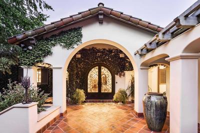 LOS ALTOS HILLS Single Family Home For Sale: 14780 Manuella Rd
