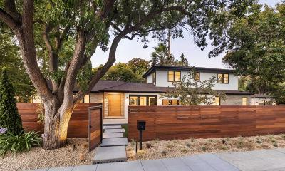 Palo Alto Single Family Home For Sale: 2388 Louis Rd