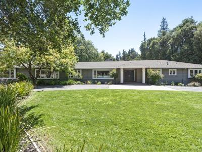 Portola Valley Single Family Home For Sale: 20 Shoshone Pl