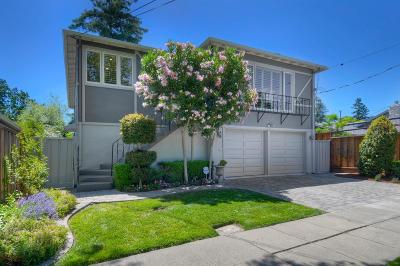 REDWOOD CITY Single Family Home For Sale: 1025 Harrison Ave
