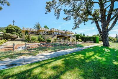 Santa Cruz County Single Family Home For Sale: 101 Pasatiempo Dr