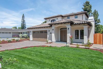 LOS ALTOS Single Family Home For Sale: 1289 Eureka Ave