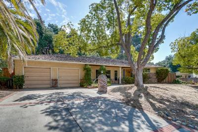 SARATOGA Single Family Home For Sale: 13620 Ferncrest Ct