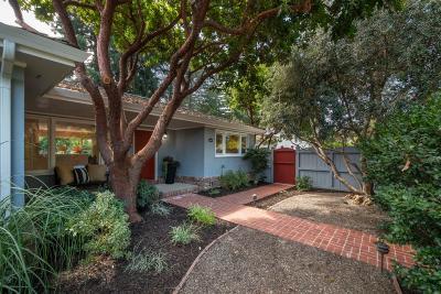 MENLO PARK Single Family Home For Sale: 1225 Santa Cruz Ave