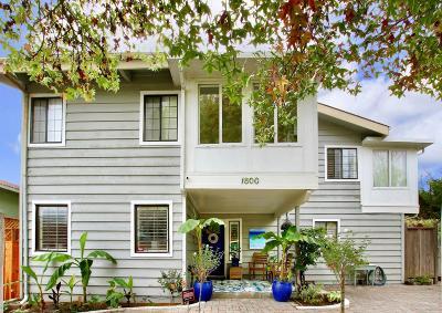 Santa Cruz County Single Family Home For Sale: 1800 Seascape Blvd