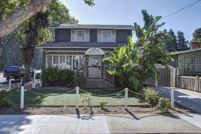 BURLINGAME Single Family Home For Sale: 1101 Douglas Ave