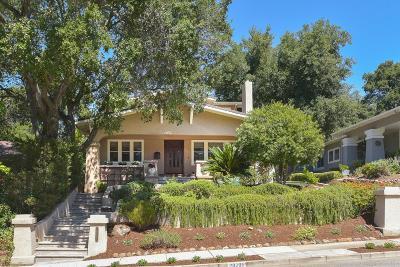 Saratoga Single Family Home Contingent: 20295 La Paloma Ave