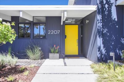 PALO ALTO Single Family Home For Sale: 2207 Greer Rd