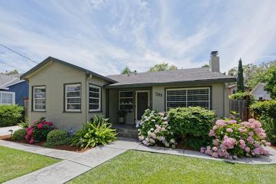 Santa Clara County Single Family Home For Sale: 1285 Bird Ave