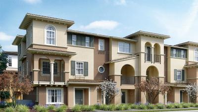 Cupertino, Sunnyvale Townhouse For Sale: 1121 Giannitsa Ter