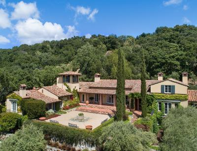 Monterey County, San Benito County, Santa Clara County, Santa Cruz County Single Family Home For Sale: 63 Los Trancos Rd