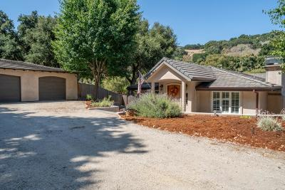 SALINAS Single Family Home For Sale: 118 Calera Canyon Rd