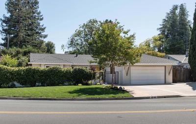 SARATOGA Single Family Home For Sale: 12140 Woodside Dr