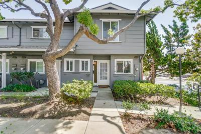 Santa Clara County Townhouse For Sale: 2262 Piedmont Rd A