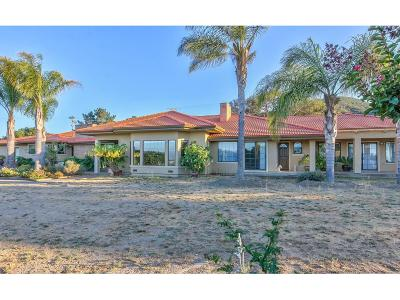 Salinas Single Family Home For Sale: 101 Pine Canyon Rd